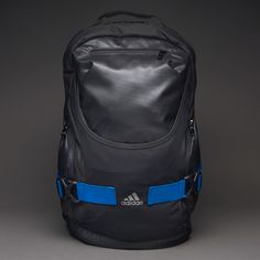 adidas Stronger Plus Backpack - Bags & Luggage - Black-Blue Beauty-Tech  Silver