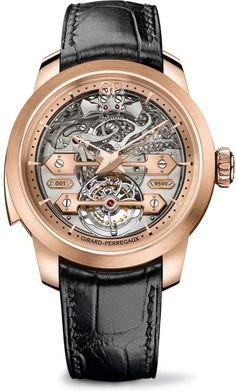 Girard-Perregaux Minute Repeater Tourbillon Ponti d'Oro Fine Watches, Cool Watches, Watches For Men, Men's Watches, Grand Prix, Gq, Girard Perregaux, Rolex Women, Latest Watches