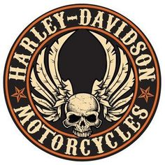 Harley Davidson Flying Skull Sign - Ande Rooney Harley Davidson Embossed Tin Sign Collection utilizes lithographed on tin process, this makes for a more detailed and inticate sign. The result is a rep
