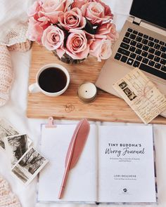 Write down your worries, release it to the universe and let the universe handle the rest. Flat Lay Inspiration, Study Inspiration, Book Aesthetic, Aesthetic Photo, Flat Lay Photography, Book Photography, Book Flatlay, Tiny Buddha, Coffee And Books
