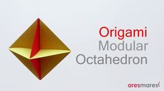 In this article, we will give you the origami tutorial easy. Well, do you remember the children's song titled Morning Star? Not only can it be seen from the sky, but Morning Star can also be made from paper! Origami Tutorial, Origami Easy, Origami Paper, How To Make Stars, How To Make Bows, Origami Geometric Shapes, Paper Plane, Paper Folding, Do You Remember