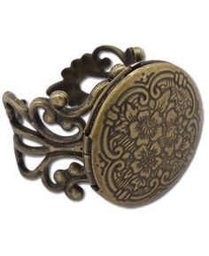 Soul Flower - Memory Lane Locket Ring - $24.00