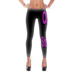 OOSF Blk/HotPink Leggings