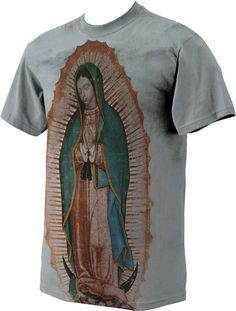 Our Lady of Guadalupe Full Color T-Shirt - Catholic to the Max - Online 8b1c39999846f