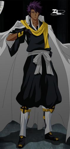 This character was insipred by the OC of my friend. Artwork © *Zanpakuto-leader The Colonel © *Zanpakuto-leader Bleach . Bleach OC - The Colonel Bleach Anime, Bleach Fanart, Manga Anime, Anime Oc, Anime Guys, Fantasy Character Design, Character Design Inspiration, Character Art, Bleach Characters