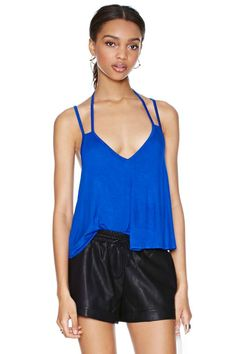 Nasty Gal Float Your Boat Top