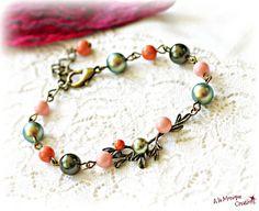 Bratara Crengute cu perle pastelate Pastel, Bracelets, Jewelry, Fashion, Bead, Bangle Bracelets, Jewellery Making, Moda, Pie