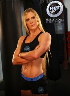 Hi-Tech Pharmaceuticals signs Holly Holm to endorsement deal
