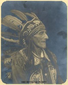 Bill Moose Crowfoot; Last living Wyandot Indian living in Ohio. Also known as Hurons.