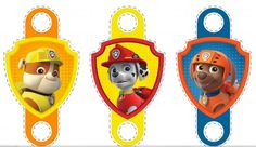 Free Printable Paw Patrol Party Blowers.