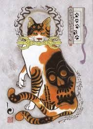 japanese tattoos meaning Japanese Tattoos For Men, Traditional Japanese Tattoos, Japanese Sleeve Tattoos, Japanese Cat, Japanese American, Polynesian Tattoo Designs, Japanese Mythology, Tattoos Gallery, Irezumi