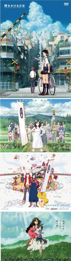 <3 Mamoru Hosoda directs such amazing movies