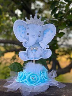Baby Girl Elephant, Elephant Theme, Baby Elephants, Elephant Baby Showers, Pink Elephant, Baby Shower Niño, Baby Shower Themes, Shower Ideas, Elephant Cake Toppers