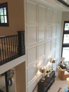 The Aqua House: Utah Valley Parade of Homes Round Up: What's trending in 2014 Home Renovation, Home Remodeling, Wall Molding, Moulding, Wainscoting Wall, Molding Ideas, Moldings And Trim, Crown Moldings, Wall Trim
