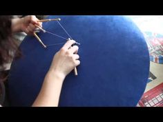 ▶ Hoja de Guipur. Encaje de Bolillos - YouTube