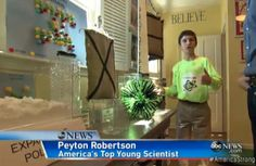 Fort Lauderdale, Florida sixth grader Peyton Robertson may revolutionize how we protect ourselves and property from flooding. Inventions, Salt, Science, Website, Salts, Science Comics