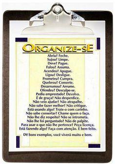 Organize sem Frescuras | Rafaela Oliveira » Arquivos » Dicas para o casal se ajudar na organização e limpeza da casa