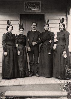 Before the Playboy club, there was the Jack Rabbit Club. (Looks like a hoot!)