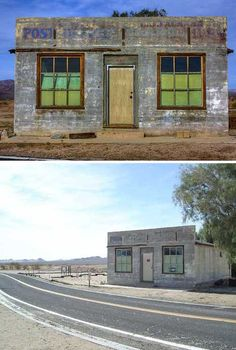 Abandoned Post Office Kelso California USA