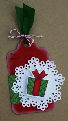 TSG135 - Warmest Wishes (last minute tag) by MrsOke - Cards and Paper Crafts at Splitcoaststampers