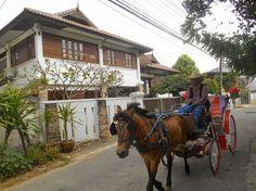 Typical horse-truck  in Lampang city (watch my travelblog: http://ramingodentro.blogspot.it/2015/02/lampang.html)