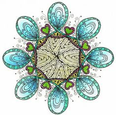 Creative Doodling with Judy West: Celtic Challenge 20