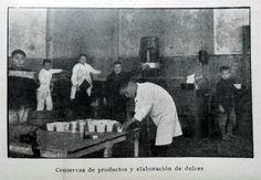 Conservas de productos y elaboración de dulces. Fuente: Ministerio de Agricultura. Memoria presentada al Congreso para el año 1920. Buenos Aires, 1921.