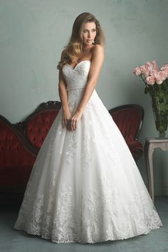 Gown by Allure Bridals