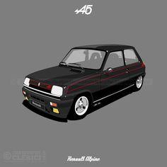 Les illustrations de christophe: Renault 5 Alpine