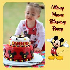Mickey MouseThemed Birthday Party