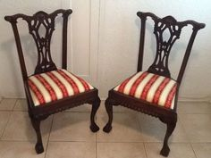 Miami: Chip and Dale wood dining chairs $399 - http://furnishlyst.com/listings/777350