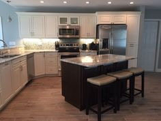 White Kitchen Home Builders, Kitchen Remodel, New Homes, House, Design, Home Decor, Homemade Home Decor, New Home Essentials, Haus