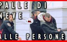 LANCIA PALLE DI NEVE IN FACCIA AGLI SCONOSCIUTI... LA REAZIONE!!!! #esperimentosociali #scherzi
