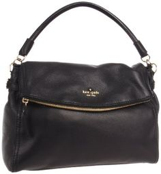 Kate Spade New York Cobble Hill-Little Minka Black  Hobo - Oozing with elegance and luxury.