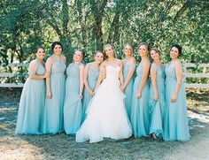 Beautiful Blush & Blue Southern Wedding - Inspired By This