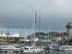 Falmouth Harbour is the world's third deepest, natural harbour after Sydney & Rio de Janeiro. Rent a caravan there!