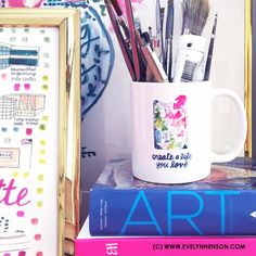 Art Palette Mug