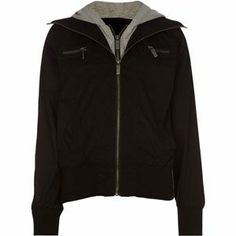 FULL TILT Girls Twill Hooded Bomber Jacket @Linda Thiltgen's