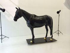 Bronze Horse Sculpture / Equines Race Horses Pack HorseCart Horses Plough Horsess sculpture by artist Wrightson and Platt titled: 'Equestrian sculpture (bronze life size Horse Commission/Custom Portrai)'