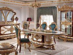 Asteria | luxuryfurniture Furniture, Asteria, Luxury Dining Room, Luxury Furniture, Luxurious Bedrooms, Exclusive Bedroom, Classic Furniture, Luxury Home Furniture, Luxury Sofa