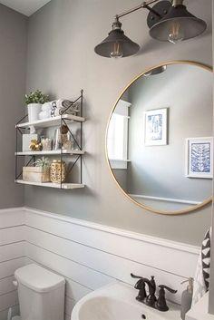 Modern farmhouse bathroom remodel ideas (5) #BathroomRemodeling