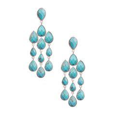 Something blue?       Chloe + Isabel Semi Precious Teardrop Chandelier Earrings $45.00
