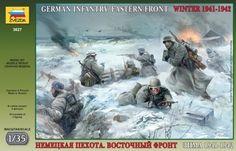 zvezda german infantry 1941 - Modeledo.pl