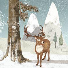 Christmas Greeting Card Design. © Nicola Jane Rabbett #winterwoodland #badger #illustration #digitalillustration #greetingcarddesign #woodlandcharacters #christmas #christmasillustration #christmascarddesign #snowscene #winter #design #digitalart