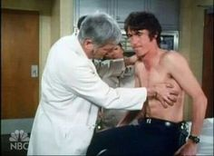 Randolph Mantooth and Bobby Troup - John Gage always getting hurt