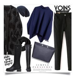"""""""Yoins"""" by vidrica ❤ liked on Polyvore featuring Zara, H&M, Phase 3 and yoins"""