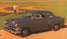 1954 Chevrolet 150 Sedan by Yesterdays-Paper on DeviantArt Chevy, Chevrolet, 50s Cars, Old Ads, Good Old, Vintage Advertisements, Concept Cars, Corvette, Roads