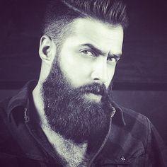 The Beard & The Beautiful Goatee Styles, Hair And Beard Styles, Hair Styles, Moustaches, Epic Beard, Full Beard, Hipster Beard, Grey Beards, Beard Grooming