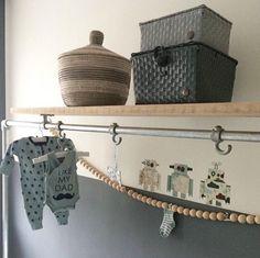 Super stoere babykamer voor een kleine vent! #boy #robot
