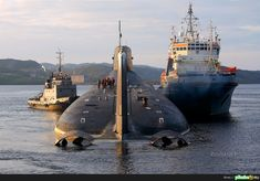"""The Project 941 or Akula, Russian """"Акула"""" (""""Shark"""") class submarine - Do. American Aircraft Carriers, Soviet Navy, Utility Boat, Russian Submarine, Nuclear Submarine, German Submarines, Cabin Cruiser, Naval History, Yellow Submarine"""